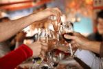 celebratory drink reduced size
