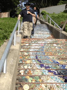 cropped stair section