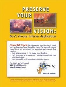 dvd copycat ad 2007